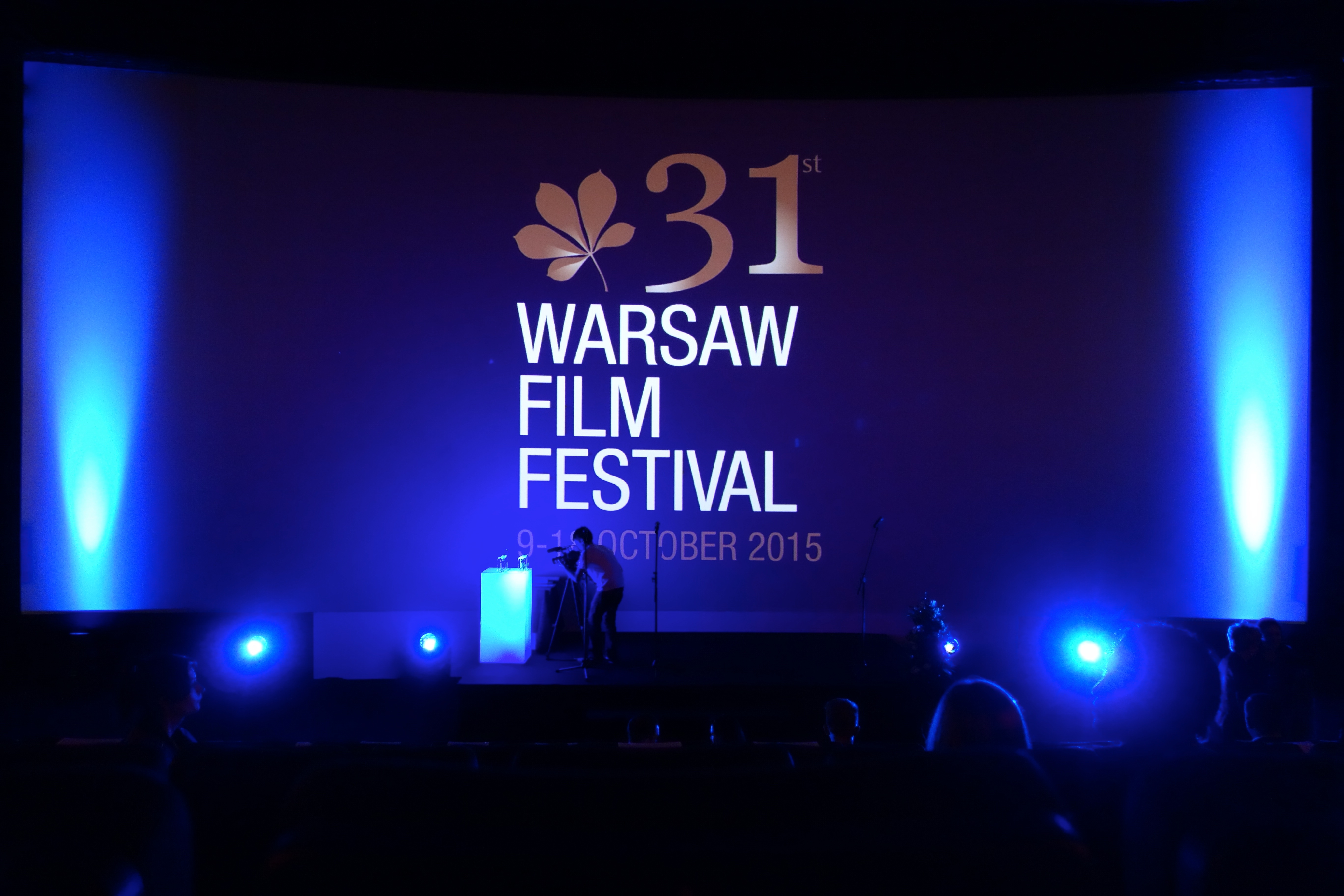 Delegation of movie Stanko at 31st Warsaw Film Festival