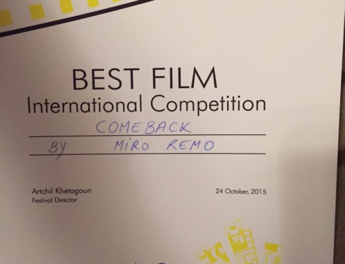 Comeback won the International Competition